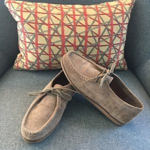 Lucky Brand Acaciah Loafer Suede Leather, sz 7.5